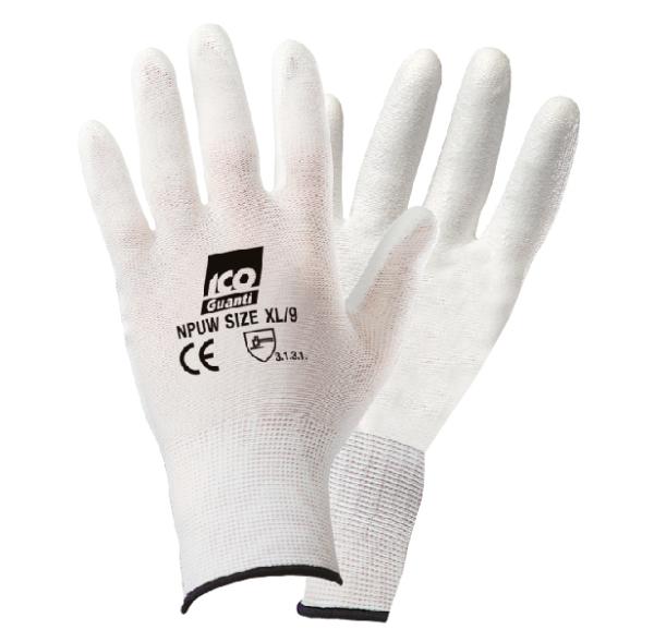 Guanto maglia elasticizzata monofilo