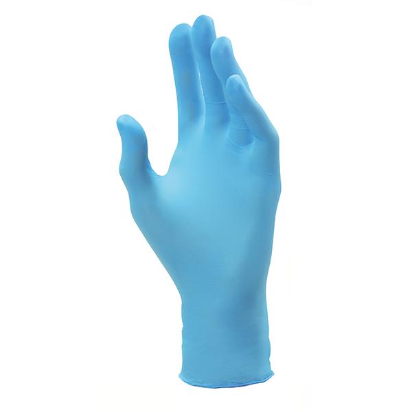 guanti in nitrile TULIP Fit Blu